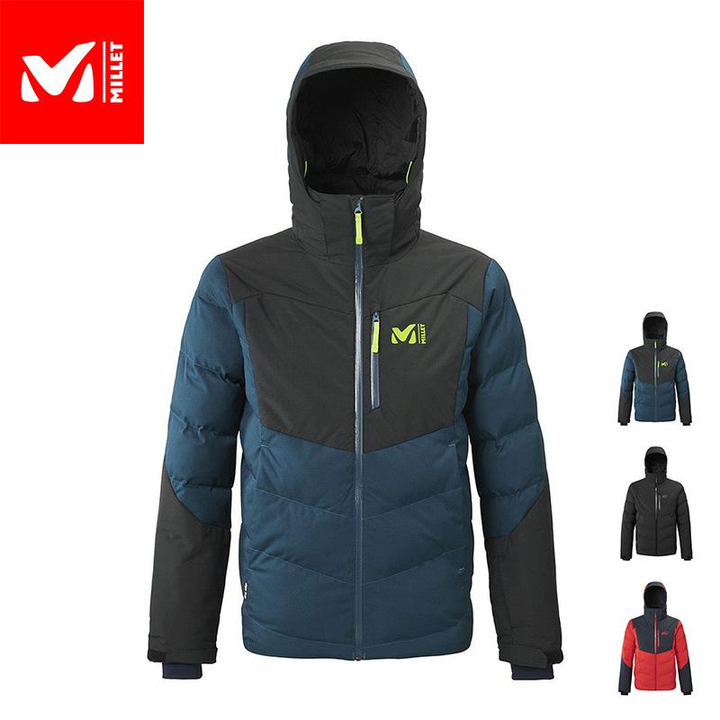 厳冬期のパウダーを攻略するための保温性と機能を備えた、中綿入り防水透湿スキージャケット 【公式】 ミレー (Millet) ロブソン ピーク ジャケット ROBSON PEAK MIV8088 / スキーウェア