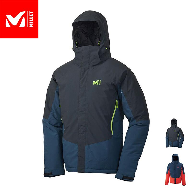 快適にスキーを楽しむための基本的な特徴と機能を備えた、防水透湿スキージャケット 【公式】 ミレー (Millet) クルーエイン ジャケット KLUANE MIV8598 / スキーウェア