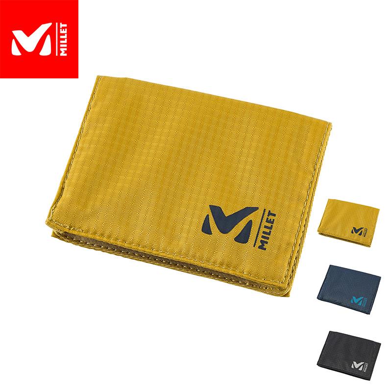 シンプルながらも収納性と耐久性に優れた財布 最新アイテム 公式 ミレー Millet ウォレット 至高 軽量財布 あす楽 WALLET MIS0657