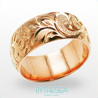 結婚指輪 刻印無料 誕生石ハワイアンジュエリー リング 指輪 刻印無料 誕生石 大きいサイズ 送料無料 オーダーメイドリング マリッジリング ネーム 記念日 誕生日 レディース メンズ ジュエリー 彼女 妻 彼氏 夫 女友達 ペアリングにも ハワジュ PB8C-E 父の日 ミリオンベル