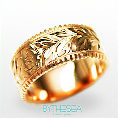 結婚指輪 刻印無料 誕生石ハワイアンジュエリー リング 指輪 刻印無料 誕生石 大きいサイズ 送料無料 オーダーメイドリング マリッジリング ネーム 記念日 誕生日 レディース メンズ 彼女 妻 彼氏 夫 女友達 ジュエリー ペアリングにも ハワジュ PF8B-D 父の日 ミリオンベル