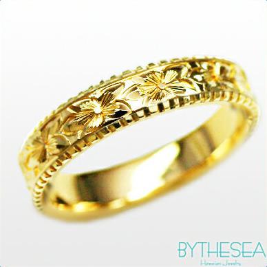結婚指輪 刻印無料 誕生石ハワイアンジュエリー リング 指輪 刻印無料 誕生石 大きいサイズ 送料無料 オーダーメイドリング マリッジリング ネーム 記念日 誕生日 レディース メンズ 彼女 妻 彼氏 夫 女友達 ジュエリー ペアリングにも ハワジュ YF4D-D 父の日 ミリオンベル