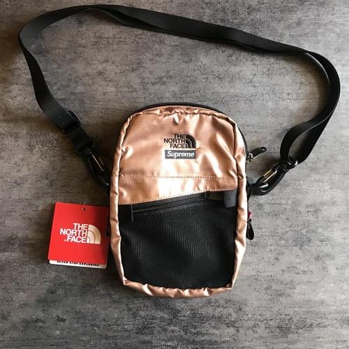 a3dc0b28a 2018SS Supreme X The North Face シュプリームノースフェイス METALLIC SHOULDER BAG  ショルダーバッグサコッシュカラー: Rose ...
