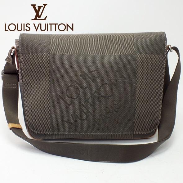 LOUIS VUITTON ルイヴィトンダミエ ジェアン ショルダーバッグプチ・メサジェ M93617美品 送料無料 【中古】