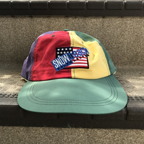POLO Ralph Lauren polo Ralph Lauren SNOWBEACH Snow beach COLD WAVE FITTED  CAP cold wave nylon cap MULTI  multicolored 8f7d7241245