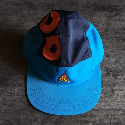 becadb412a8 2018SS Nike ACG AW84 CAP adjuster double cap EQUATOR BLUE AO2104-439  265-001055-014+ color  EQUATOR BLUE size  Free