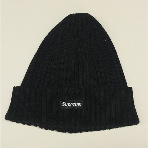 2018SS Supreme Overdyed Ribbed Small Box Logo Beanie Cap Small box logo  beanie knit cap color  Black  black 74cc4b40427