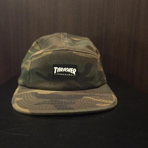 AMBER Rakuten Ichiba Shop  THRASHER slasher CAMO CAMP CAP JET CAP 5-PANEL  CAP duck camping cap jet cap 5 panel cap camouflage  CAMO  duck  1a0deb008db
