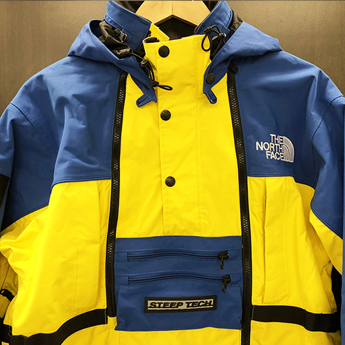 63f56a84db 2016SS Supreme X The North Face シュプリーム X ザノースフェイス Steep Tech Hooded Jacket  hooded jacket ROYAL royal BLUE YELLOW blue   yellow
