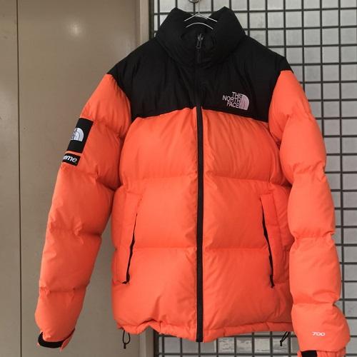 2016AW Supreme X The North Face シュプリーム X ザノースフェイス Nuptse Jacket ヌプシダウンジャケット Power Orange orange