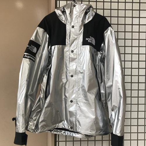 13034a949 2018SS Supreme X The North Face シュプリームノースフェイス Metallic Mountain Jacket  metallic mountain jacket color: Silver silver silver ...