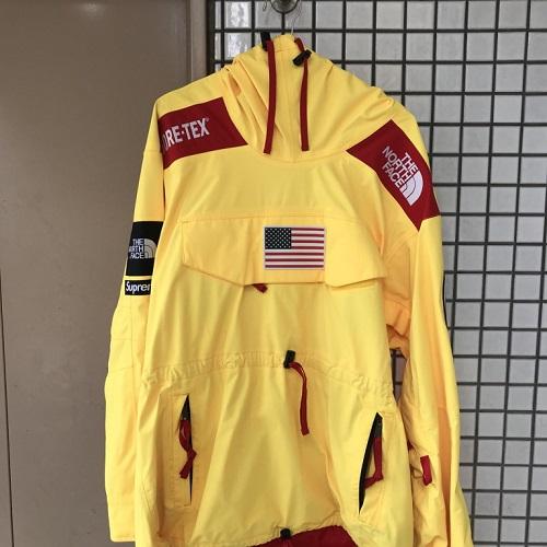 b7f6a105b Supreme X The North Face シュプリーム X North Face 17SS Trans Antarctica  Expedition Pullover trance Ann Tak Thika expedition pullover YELLOW/ yellow