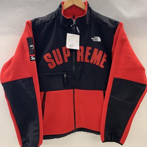 Supreme×THE NORTH FACEシュプリーム×ザノースフェイス19SS Arc Logo Denali Fleece Jacketアーチロゴデナリフリース ジャケットカラー:レッドサイズ:L【未使用品】【1904】【0411】【19SS】【コラボ】【国内正規】
