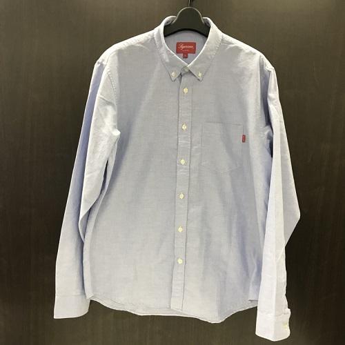 2018SS Supreme oxford shirt シュプリーム オックスフォード ダウンシャツ【新古品】【1803】【0301】