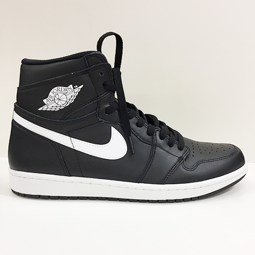 c79d37b325b6 NIKE AIR JORDAN 1 RETRO HIGH OG Nike Air Jordan 1 nostalgic high OG BLACK  WHITE-BLACK
