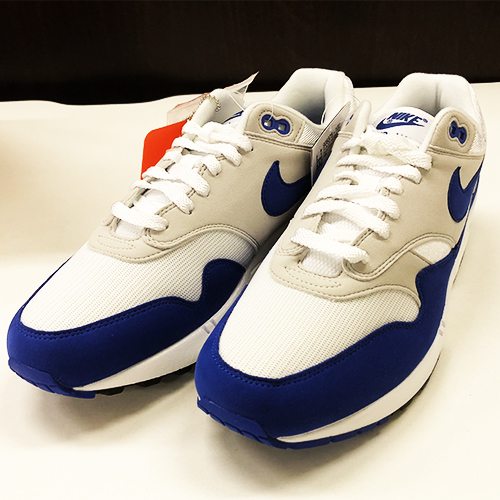 half off 0b4c9 bc851 NIKE AIR MAX 1 ANNIVERSARY OG 908,375-102 Air Max 1 anniversary GAME ROYAL  game royal BLUE blue size