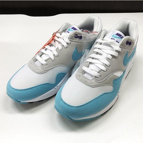 billig Nike Air Max 1 Anniversary Aqua 908375 105 Sneaker