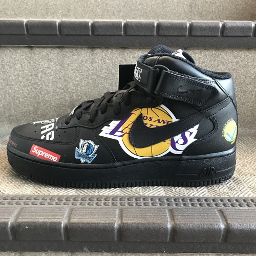 brand new 1c7f8 c7cb6 Supreme x NIKE x NBA 18SS Teams Air Force 1 Mid team air force one mid  size: A 28cm color: Black
