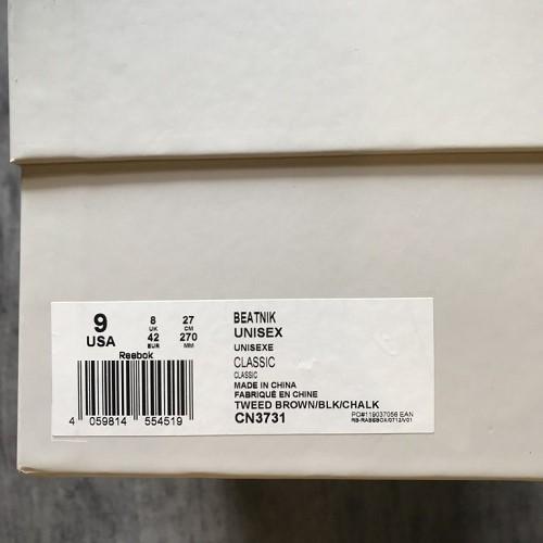 Reebok リーボック BEATNIK ビートニック CN3731 サイズ US 9JP 27cmカラー TWEED BROWN BLACK CHALK 品送料無料18040410rdexCBo