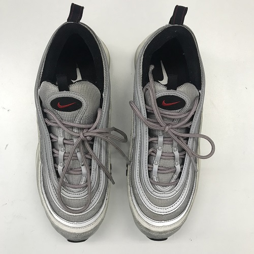 "NIKE AIR MAX 97 OG QS "" SILVER BULLET Kie Ney AMAX 97 sneakers silver Barrett gray silver size"