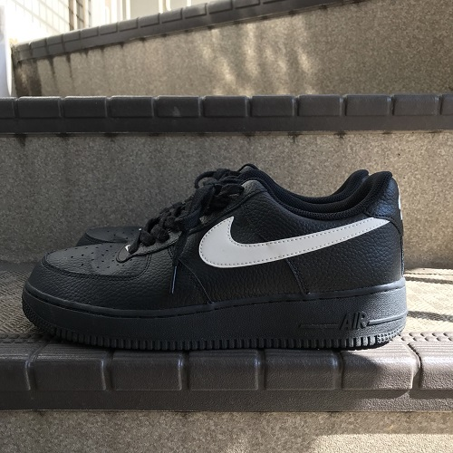 NIKE Nike AIR FORCE 1 07 air force AA4083 001 color: Black size: 27.5cm