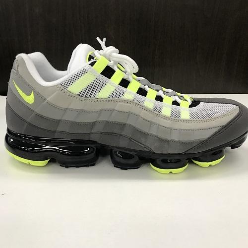cheaper ea637 5de7d NIKE Nike AIR VAPORMAX 95 NEON air vapor max AJ7292-001 color: Yellow  gradation neon size: 30cm