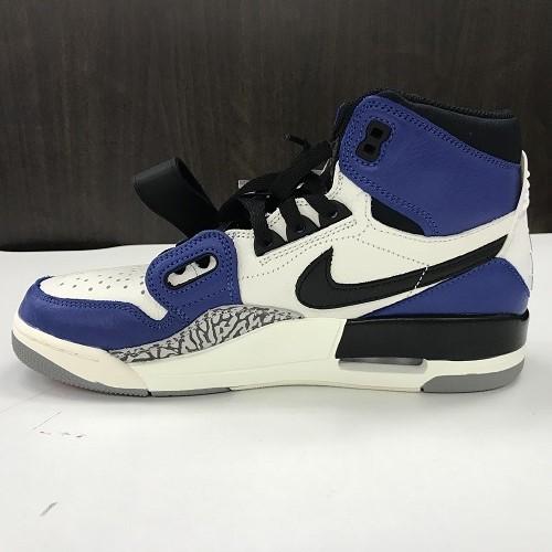 4dd5014f078a JUST DON X NIKE just Don X Nike AIR JORDAN LEGAC NY 312RG Air Jordan Legacy storm  blue AQ 4160-104 color  Blue X white size  27.5cm