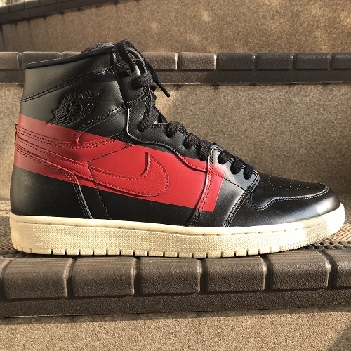 8cc9f06e72a1 NIKE AIR JORDAN 1 RETRO HIGH OG DEFIANT Nike Air Jordan 1 nostalgic high  Aussie デファイアントカラー  Black   red size  30cm
