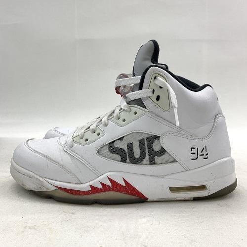 1c86d88e46c A Supreme/NIKE シュプリーム / Nike AIR JORDAN 5 RETRO 824,371-101 Air Jordan ...