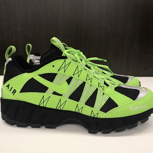29a88177a6a1 Supreme X NIKE AIR Humara 17 シュプリーム X ナイキエアフマラ 17AW ACTION GREEN ACTION  GREEN (green) 27.5cm supreme sneakers