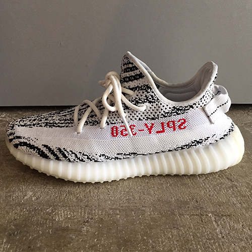80b7b5e3414 adidas YEEZY BOOST 350 V2 CP9654 WHITE CORE BLACK RED Adidas easy boost 350  V2 zebra 26cm Kanye West Kanie waist
