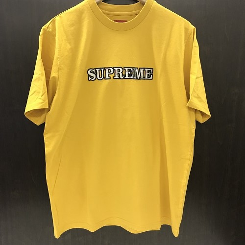 6f8437c5a947 Supreme シュプリーム 18AW Floral Logo Tee floral logo T-shirt color  Yellow size   L