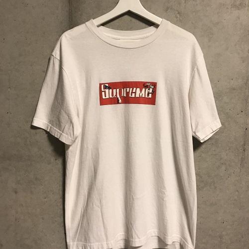 Supreme×Joe Cool シュプリーム07SS Joe Cool Box Logo Tee カラー:White サイズ:L【中古品】【1809】【0927】【07SS】