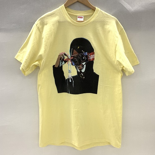 Supreme シュプリーム19SS Creeper Teeクリ―パー Tシャツサイズ:L カラー:イエロー【中古品】【1903】【0327】【Supreme】【19SS】