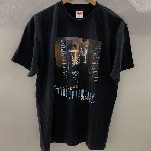 Supreme 19SSChristopher Walken King Of New York Teeシュプリーム クリストファーウォーケン キングオブニューヨークTシャツ カラー:ブラック サイズ:L 【1904】【0405】【中古】【19SS】【Tee】