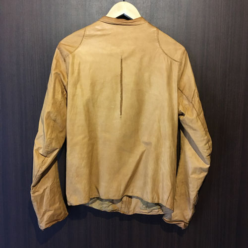 OUTER SALE SISII シシシングルライダースジャケットキャメル サイズ M 02061702gY76yvbf