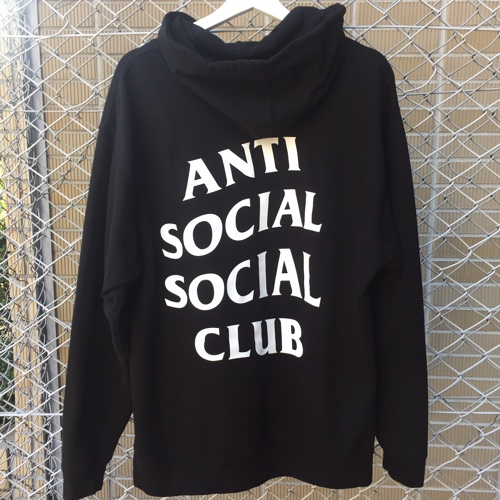 b482eb8ec20a AMBER Rakuten Ichiba Shop  ANTI SOCIAL SOCIAL CLUB antisocial social club Mind  Games Hoodie parka black size  L