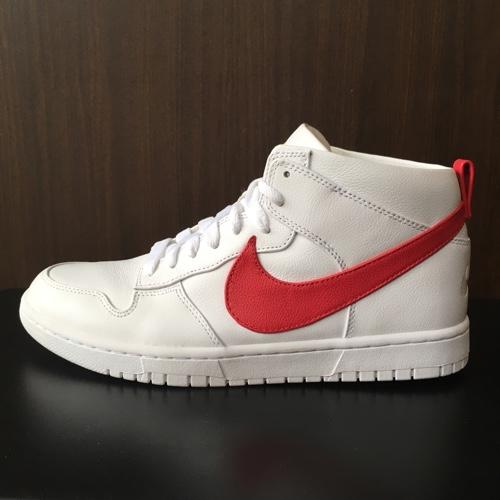 new arrivals 85e85 211cf 2017 NIKE+R.T. Nike X Ricardo ティッシ DUNK LUX CHUKKA RT ダンクラックスチャッカ RICCARDO  TISCI WHITE RED red   white 910,088-100