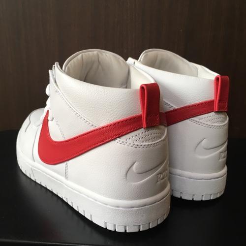 new arrivals ac875 d1b36 2017 NIKE+R.T. Nike X Ricardo ティッシ DUNK LUX CHUKKA RT ダンクラックスチャッカ RICCARDO  TISCI WHITE RED red   white 910,088-100