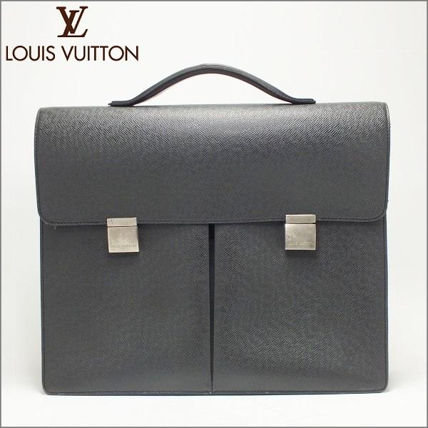 LOUIS VUITTON ルイヴィトンタイガ ブリーフケースカザン M30802アルドワーズ ブラック 黒中古 送料無料