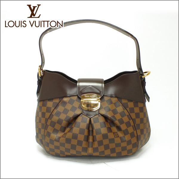 LOUIS VUITTON ルイヴィトンダミエ エベヌ ハンドバッグシスティナMM N41541中古 未使用品 送料無料