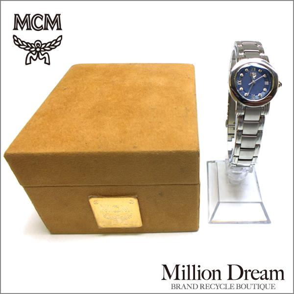 MCM エムシーエムレディースウォッチ中古 腕時計