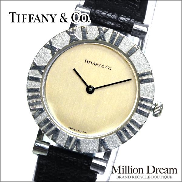 ◆税込価格◆【Tiffany&Co.:ティファニー】アトラス レディースウォッチクオーツ 【中古】★送料無料★