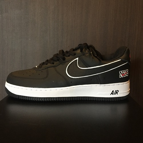 0fd54988cfc1db NIKE Nike AIR FORCE 1 LOW RETRO NYC Air Force One Lorre fatty tuna Empire  City BLACK WHITE UNIVERSITY RED 28cm