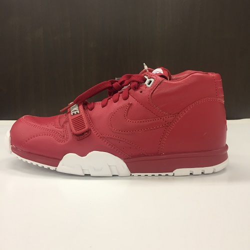 NIKE X FRAGMENT DESIGN AIR TRAINER 1 MID SP FRAGMENT GYM RED WHITE 26.5cm  Nike X fragment design air trainer 1 mid gym red X white 806 8dc5782ba