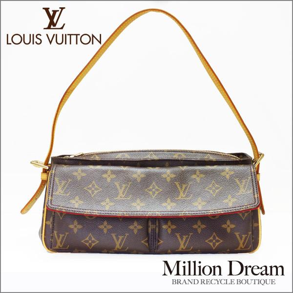 ◆税込価格◆【LOUIS VUITTON:ルイ・ヴィトン/モノグラム】ヴィバシテMM・M51164【中古】【美品】【送料無料】