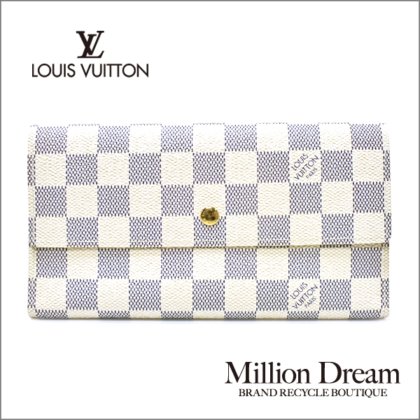 LOUIS VUITTON LOUIS【中古】 ルイヴィトンダミエ・アズールポルトフォイユ・インターナショナル N61732長財布 送料無料 VUITTON【中古】, JET PRICE:84ade70d --- southcoastdiesels.ie