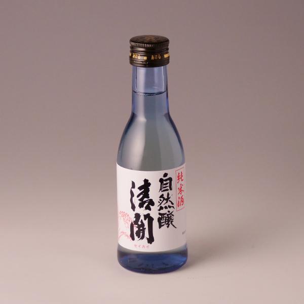 さらっと飲みやすく 口当たりの良い純米酒 自然醸清開 純米 アロマぼとる 180ml せいかい T10 父の日 最新 通販 お祝い 誕生日 ギフト TY-JC-K 販売期間 限定のお得なタイムセール