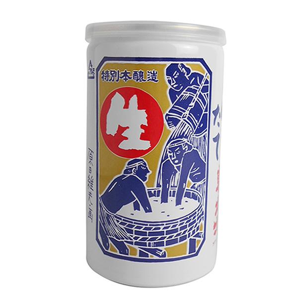 飲みごたえのある甘口原酒 高級な 信憑 東力士 しぼりたて生 缶 180ml あずまりきし 父の日 ギフト 通販 お祝い TY-C-K 誕生日 T10
