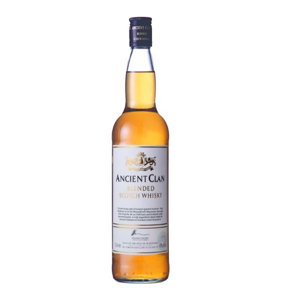 力強い口あたり 複雑で深い味わいのブレンデッド ウイスキーです エンシェント クラン 700ml ANCIENT アイテム勢ぞろい CLAN 父の日 ウイスキー T10 誕生日 高級品 ギフト 通販 TY-J-K お祝い